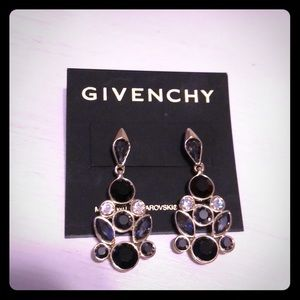 New Givenchy Swarovski chandelier earrings